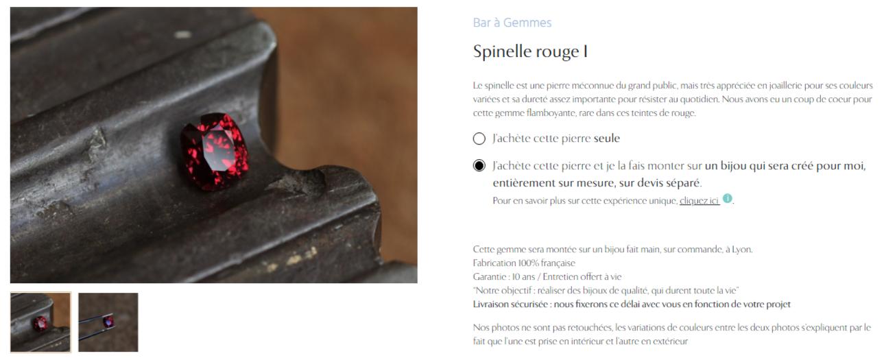 Créez un bijou sur mesure avec www.bar-a-gemmes.fr